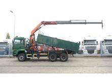 camion MAN TGA 26.480 6X6 TIPPER WITH PALFINGER PK 20002 CR