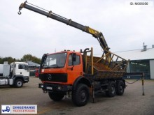 camion Mercedes SK 2629 6x6 2-way tipper + Effer 44N/3S