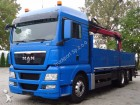 camion plateau ridelles MAN occasion