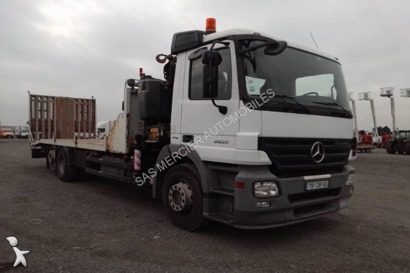 camion mercedes porte engins 2531 euro 4 occasion n 1792542. Black Bedroom Furniture Sets. Home Design Ideas