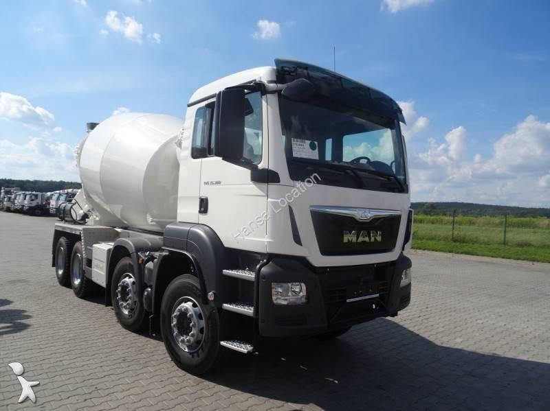 location camion man b ton toupie malaxeur tgs 8x4 euro 6 neuf n 1795287. Black Bedroom Furniture Sets. Home Design Ideas