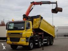 camión DAF 85 CF 430 8X4 KRAAN + KIPPER