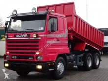 camión Scania 143H 420 6X2 TIPPER / STEEL SUSPENSION!