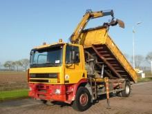 camión DAF CF 85.340 CRANE TIPPER