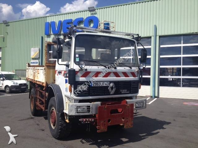 Camion renault benne midliner 210 4x4 euro 2 occasion n for 4x4 haute loire occasion