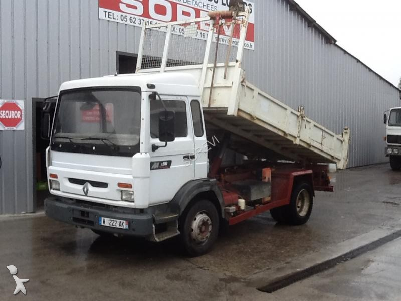 Camion renault benne midliner 150 4x2 gazoil euro 2 for Porte universelle benne
