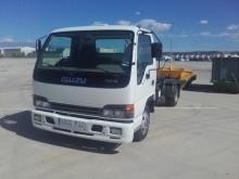 camion porte containers Isuzu