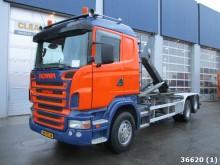 camion scarrabile Scania usato