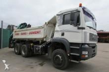 camion MAN TGA 26.390 6x4 BB - KRAN ATLAS 145.2-A3