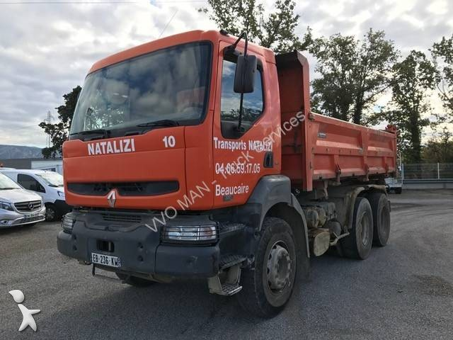 Camion renault bi benne kerax 320 dci 6x4 gazoil euro 3 occasion n 1806267 - Garage renault cavaillon ...