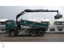 camion Scania P 340 6X6 TIER WITH HIAB 122 D-2 CRANE