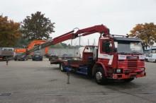 camion Scania 93-220 Oprijwagen + Crane