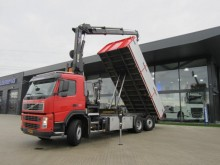 camion Volvo FM 9 6X2R HIAB 166 + KIPPER