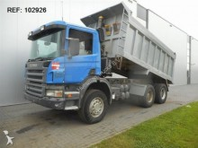 camion Scania P380 FULL STEEL MANUAL HUBREDUCTION