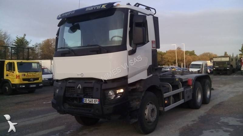 Camion polybenne occasion renault gamme k 520 gazoil - Location camion nimes ...