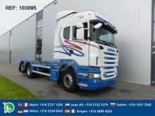 camion Scania R580 CHASSIS EURO 3