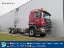 camion Scania R580 CHASSIS FULL STEEL EURO 3