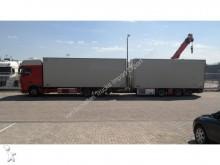 camion DAF XF 105.410 6X2 FRIGO COMBI WITH TRACON FRIGO TRA