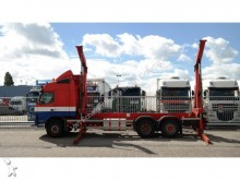 camion Volvo FM 12/380 SIDE LOADER COMBI WITH GROENEWEGEN TRA