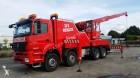 camion Mercedes Axor 3240 Takelwagen + Telescoopkraan