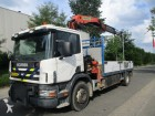 camion plateau ridelles Scania occasion