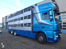 camion DAF XF105.460 + Animal trailer 2axle + Complete