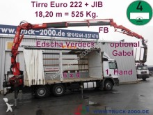 camion Mercedes 2636 Actros 6X4 Tirre 222 + JIB 18,20m- 525 KG