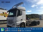 camion Mercedes ACTROS 2551 - SOON EXPECTED - 6X2 CHASSIS EURO 5 STEERING AXLE