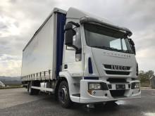 camion cassone centinato alla francese Iveco usato