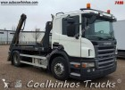 camion portacontainers Scania usato