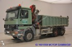 camion ribaltabile Mercedes incidentato