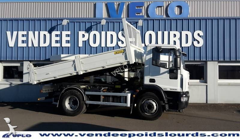 camion iveco benne eurocargo ml 150 e 25 gazoil euro 5. Black Bedroom Furniture Sets. Home Design Ideas