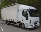 camión lona corredera (tautliner) caja abierta entoldada Iveco usado