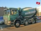 camion béton toupie / Malaxeur Scania occasion
