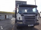 camion benne Enrochement Scania occasion