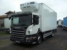 camion frigo trasporto carne Scania usato