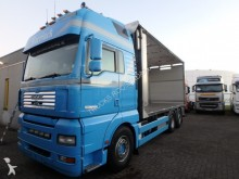 camión MAN TGA 26.480 + RVS- box/stainless steel box + stee