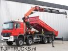 camion Mercedes Actros 4146 8x6 PALFINGER 56 T/M CRANE / KRAN/ 1