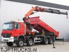 camión Mercedes Actros 4146 8x6 PALFINGER 56 T/M CRANE / KRAN/ 1