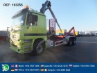 camion Mercedes ACTROS 2548 6X2 HOOK WITH HIAB 140 FULL STEEL