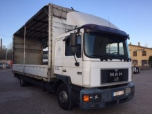 camión lonas deslizantes (PLFD) teleros MAN usado
