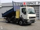 camion ribaltabile trilaterale DAF usato