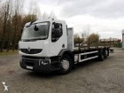 camion piattaforma trasporto ferro Renault usato