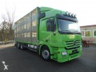 camion Mercedes Actros 2544 3 stock animal truck