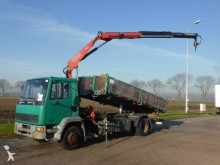 used DAF three-way side tipper truck