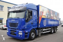 used Iveco beverage delivery flatbed truck