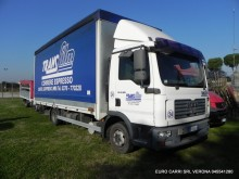 used MAN tarp truck