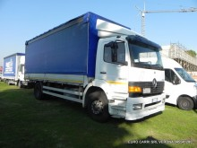 used Mercedes tarp truck