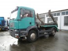used MAN half-pipe tipper truck