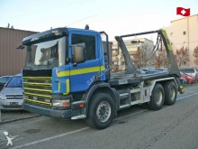 camión Ampliroll Scania usado